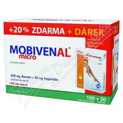 Mobivenal micro tbl 100+20 dárkové balení
