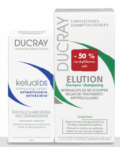 DUCRAY Kelual DS shamp100ml+Elution 200ml