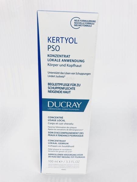 DUCRAY Kertyol PSO Keratoredukční krém 100ml - vlasová péče,péče o vlasy,