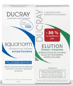 DUCRAY Squanorm grass shamp200ml+ Elution 200ml