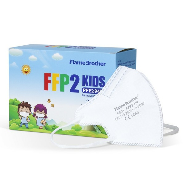 RESPIRÁTOR FFP2 KIDS 20KS