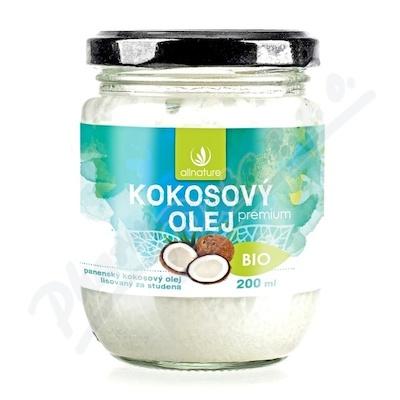Allnature Kokosový olej BIO 200 ml