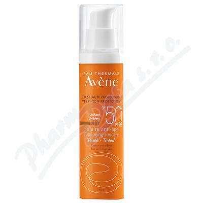 AVENE Sun Sluneční Anti-age SPF50+ tónovaný 50ml - avene kosmetika,avene,avena,avene cicalfate,avene physiolift,