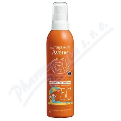 AVENE S Spray 50+ enf 200ml-opal. sprej pro děti 50+