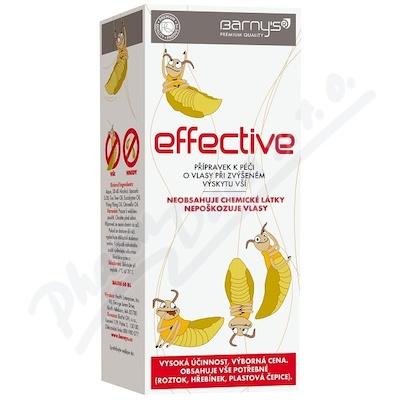 Barny`s Effective 60ml při zvýš.výskytu vší