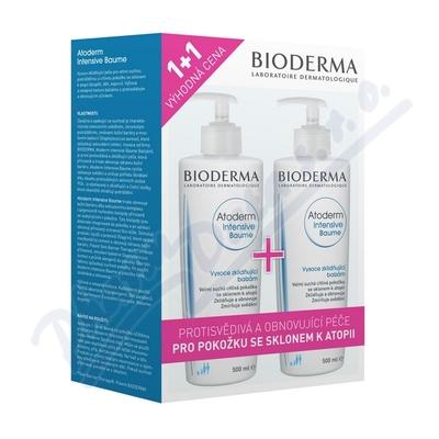 BIODERMA Atoderm Int. Baume 500ml 1+1 Výhodná cena