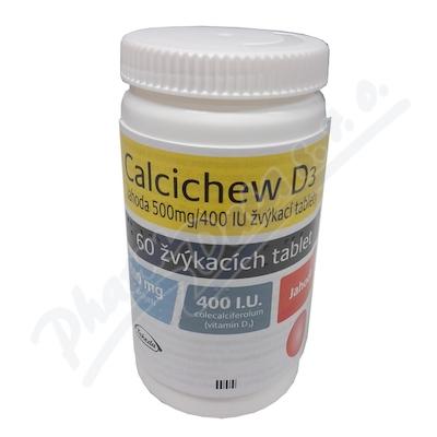 CALCICHEW D3 JAHODA