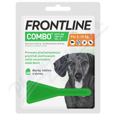 Frontline Combo Spot on Dog S pipeta 1x0.67ml - Veterinární přípravky a potřeby pro vaše mazlíčky.