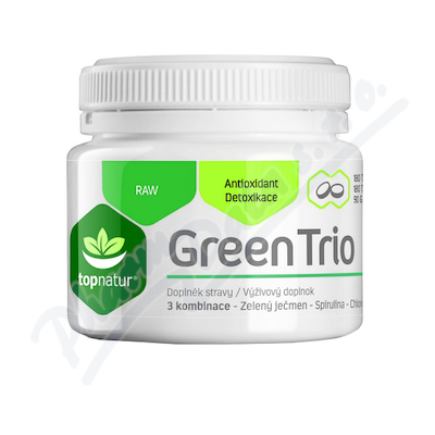 Green Trio Medicol Chlor.Spirul.Zel.ječmen tbl.180