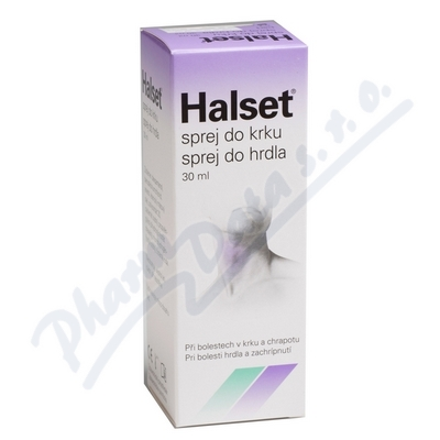 Halset sprej do krku 30ml
