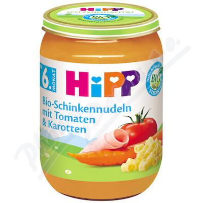 HIPP BABY MENU zel.se šunkou a těstovin.190gCZ6210