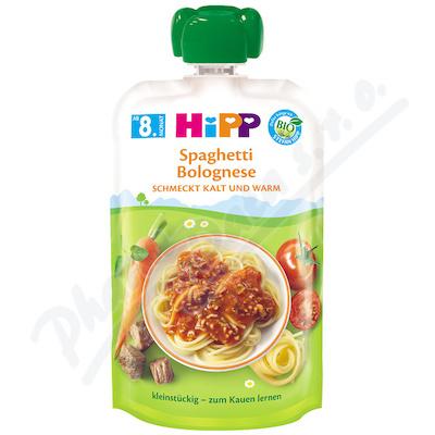 HiPP Kapsička BIO Boloňské špagety 130g