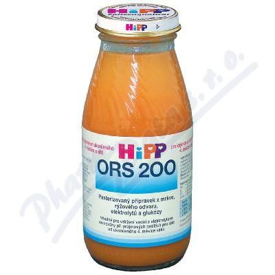 HIPP ORS 200 mrkv.-rýž.odvar pr.průjmu 200mlCZ2300