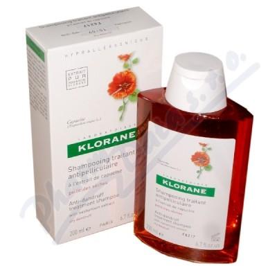 KLORANE Šampon lichořeřišnice-suché lupy 200ml - vlasová péče,péče o vlasy,