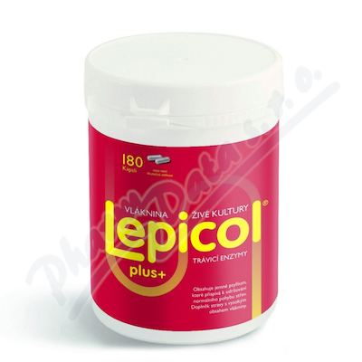 Lepicol PLUS travici enzymy cps.180