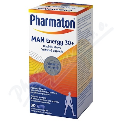 Pharmaton Man ENERGY 30+ tbl.30