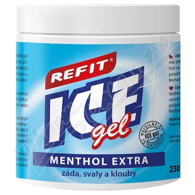 Masážní a osvěž.Refit Ice gel 220ml s mentholem