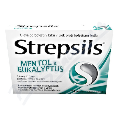 STREPSILS MENTOL A EUKALYPTUS
