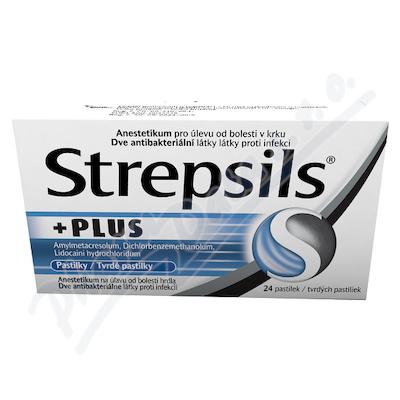 STREPSILS PLUS