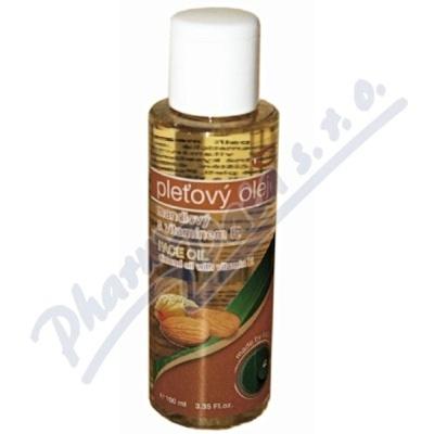 TOPVET Mandlový olej 100% s vit.E 100ml