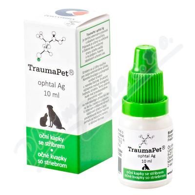 TraumaPet oční kapky s Ag 10ml - Veterinární přípravky a potřeby pro vaše mazlíčky.