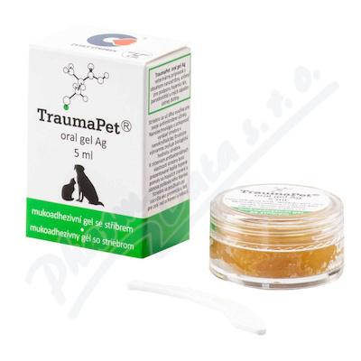 TraumaPet zubní gel s Ag 5ml - veterinární přípravky se stříbrem