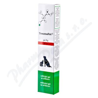 TraumaPet zvlhčující gel s Ag 30ml - Veterinární přípravky a potřeby pro vaše mazlíčky.
