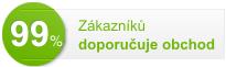 99 % zákazníků doporučuje obchod Mujlekarnik.cz
